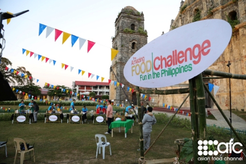 Amazing Food Challenge: Fun in the Philippines