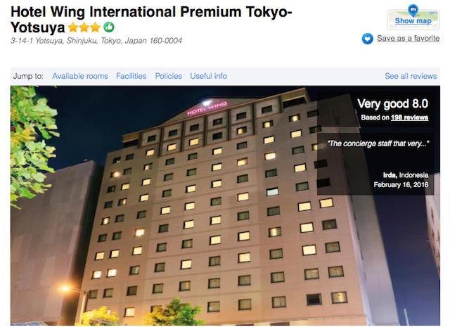 Hotel Wing International Premium Hotel