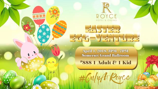 Royce Easter Egg-Venture