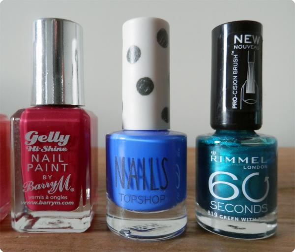 Nail Polish blues