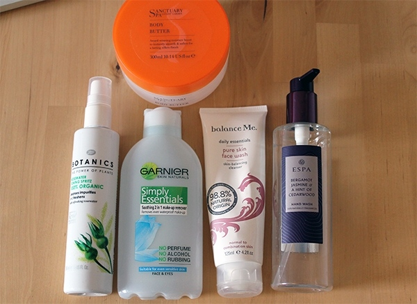 January 2014 Empties