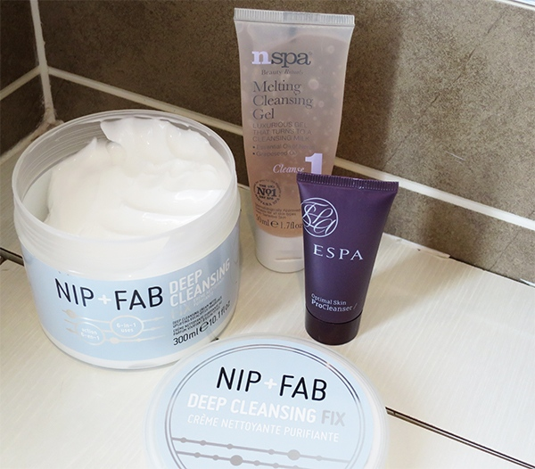 A trio of my favourite cleansers
