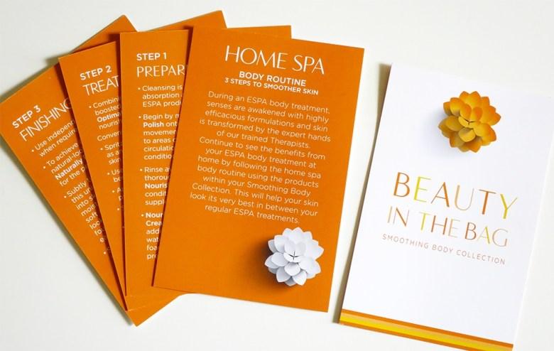 ESPA Home Spa Body Routine