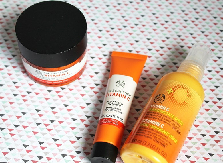 The Body Shop Vitamin C Range