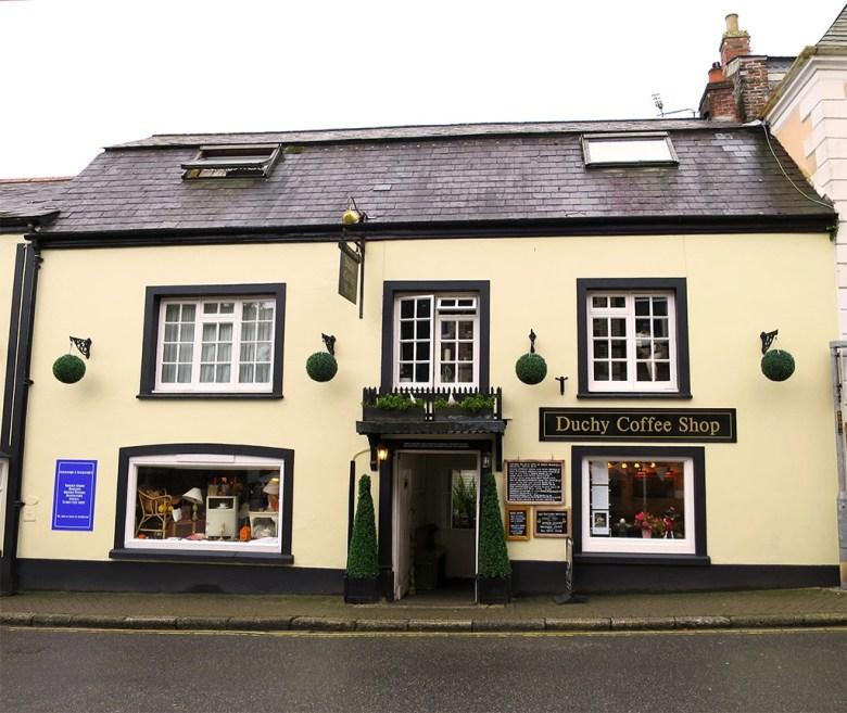 Duchy Coffee Shop Cornwall