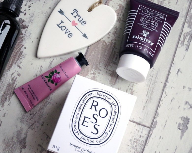 Rose Themed Beauty Products