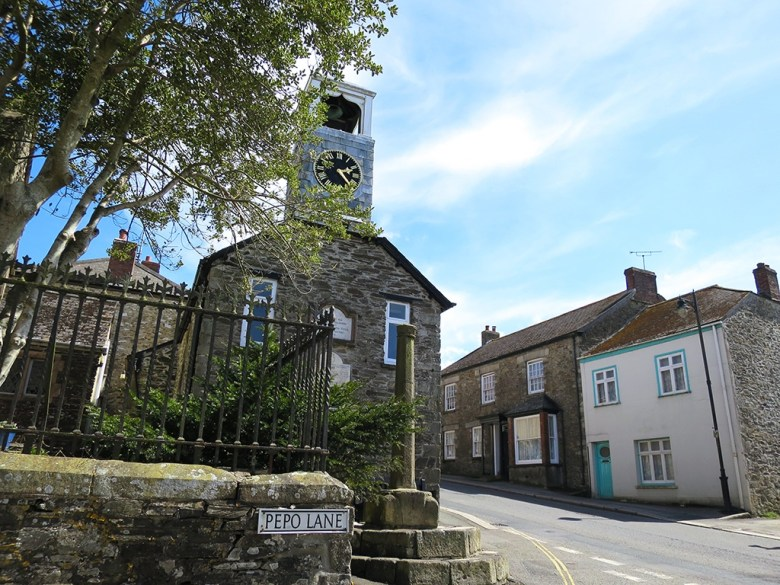 The village Church Grampound Cornwall