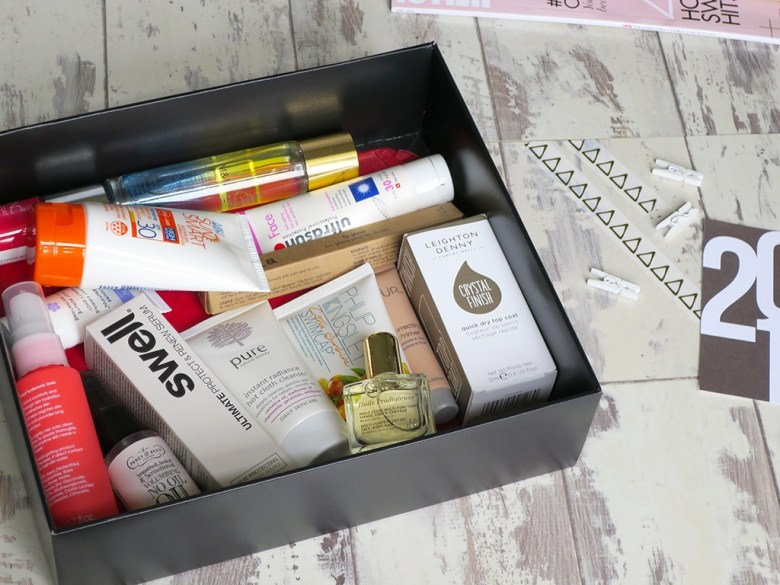 M&S Summer Beauty Box Contents