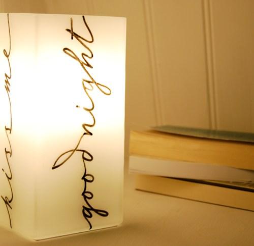 Idéé cadeau : lampe pour un enfant ou pour un couple
