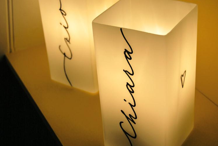 Lampe personnalisée avec PRENOM