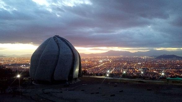 The Baha'i House of Worship in Santiago, Chile. Photo courtesy of Baha'i World News Service
