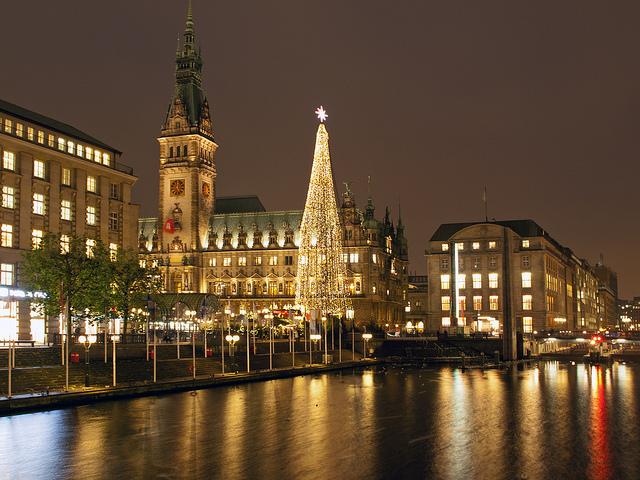 Christmas tree Hamburg