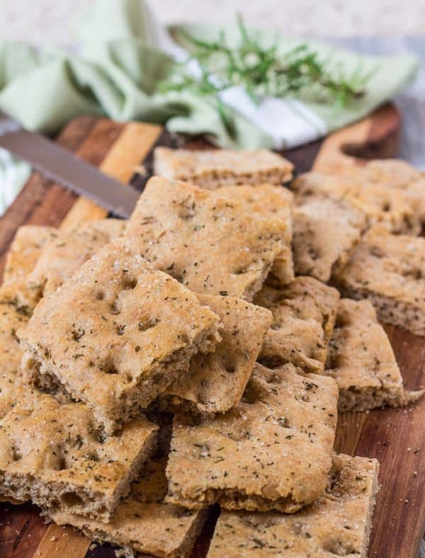 Easy Whole Wheat Rosemary Focaccia   Letty's Kitchen