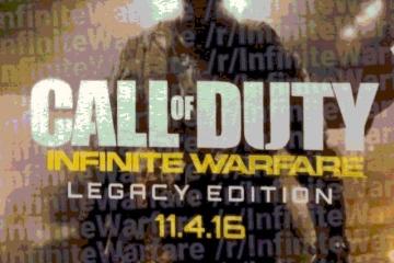 Call of Duty: Infinite Warfare geliyor!