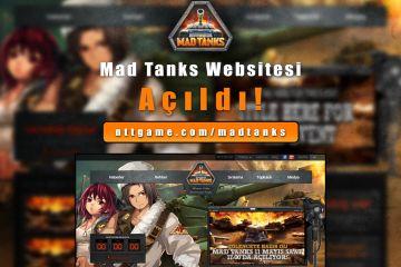 Mad Tanks Websitesi Açıldı!