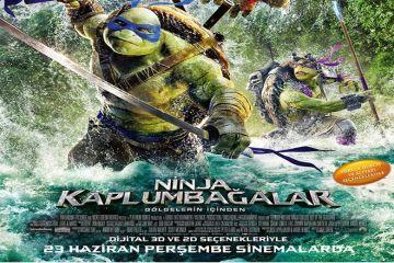 Ninja Kaplumbağalar: Gölgelerin İçinden filmini inceledik