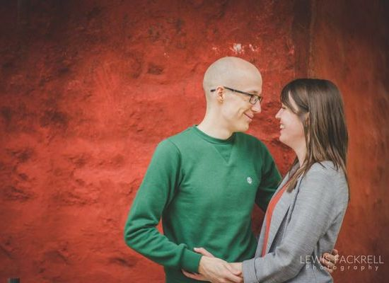 pre-wedding photoshoot at St Fagins Museum Cardiff by Wedding photographers Lewis Fackrell Photography