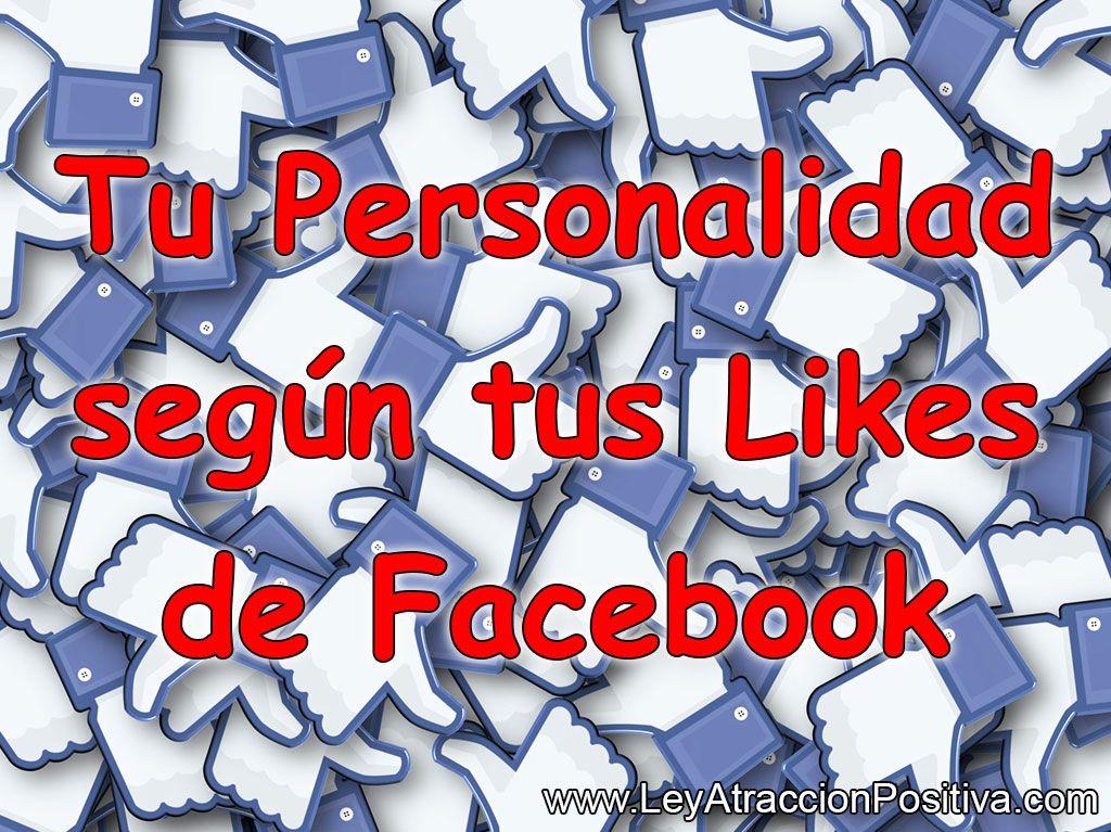 Tu Personalidad según tus Likes de Facebook