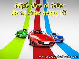 ¿Qué dice el Color de tu Auto sobre ti?