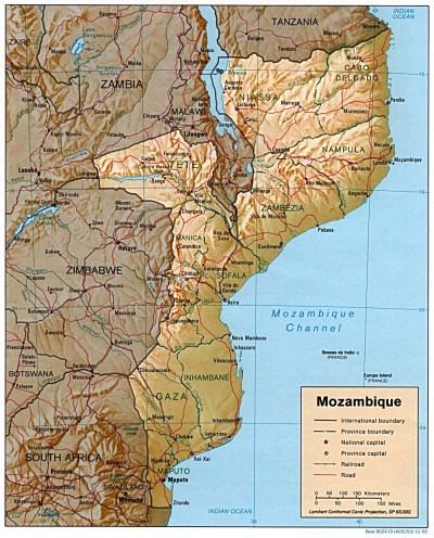 Mozambique Maps - Perry-Castañeda Map Collection - UT Library Online