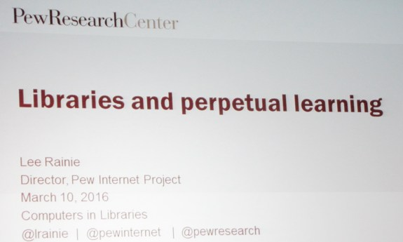 Libraries and Perpetual Learning