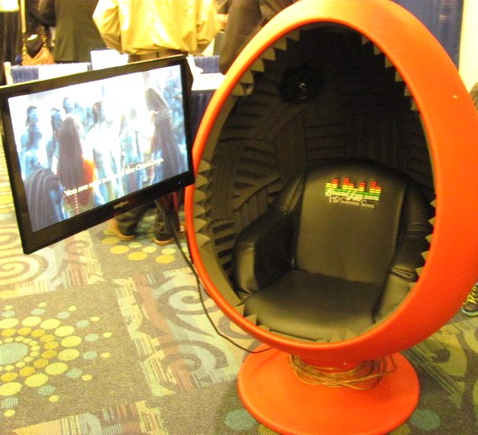 Sound Egg's Surround Sound Chair
