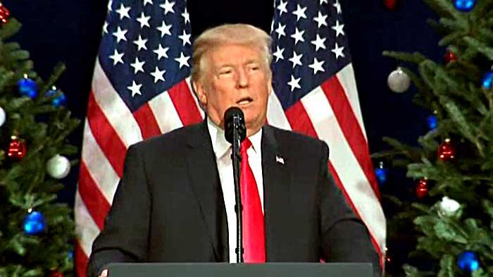 Trump ora attribuisce i premi per le