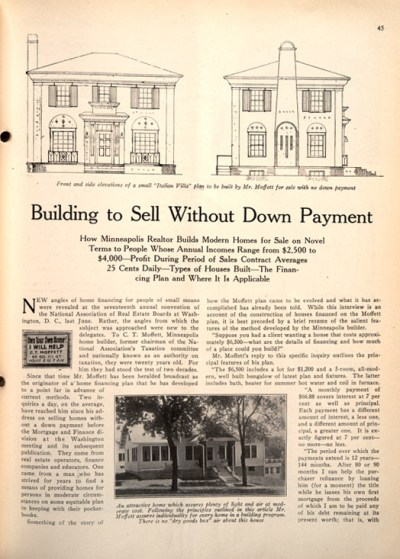 Installment Buying 1920s