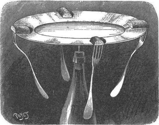 El plato en la punta de una aguja