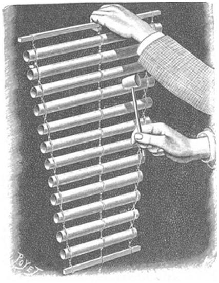 Un nuevo instrumento de música (el tubófono)