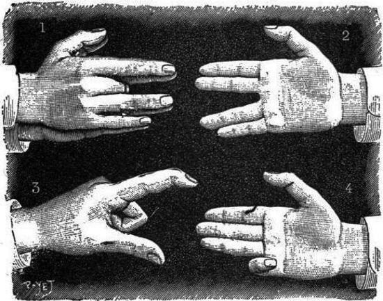 La gimnasia de los dedos
