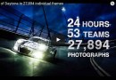 The 24h of Daytona in 27,894 images