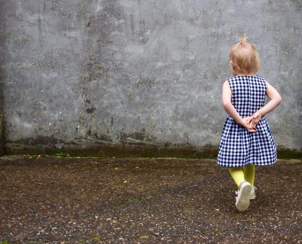 Tinny Dress Straight Grain Liesellove