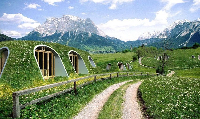 Green-Magic-Homes - Cozy Hobbit Homes Can Be Built