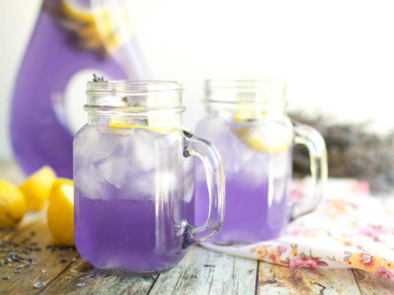 2.Make Lavender Lemonade