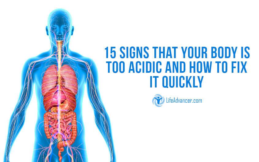 High Acidity Levels