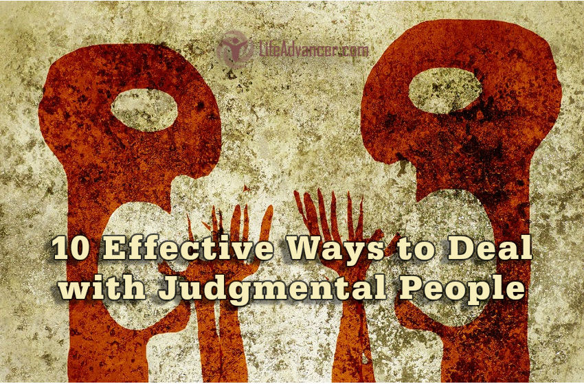 Deal Judgmental People