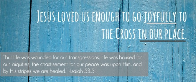 Jesus loved us