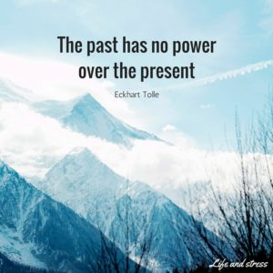 The past has no power over the present