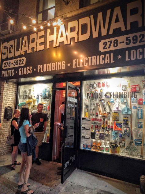 This hardware store is really a cocktail bar. You've got to see inside.