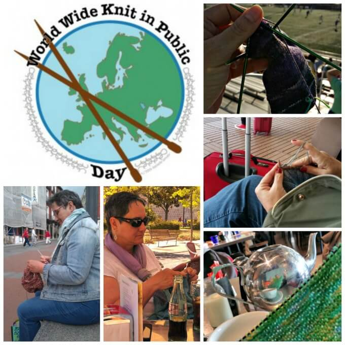 World Wide Knit In Public Day ~ Saturday June 18, 2016 ~ Life Beyond the Kitchen
