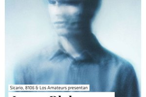 Flyer de James Blake en México