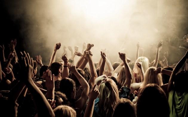 Público durante un concierto.