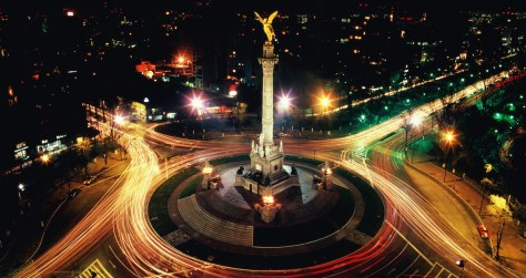 Mexico, Mexico City, Reforma Boulevard, Monument to Independence