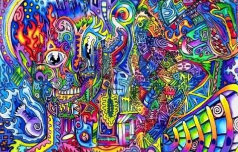 Video muestra qué le pasa al cerebro cuando está bajo la influencia del LSD
