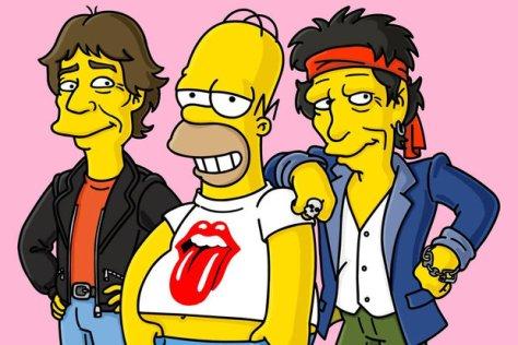 Rolling Stones en Los Simpsons