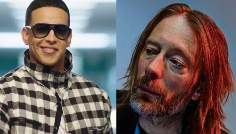 Daddy Yankee Radiohead Thom Yorke