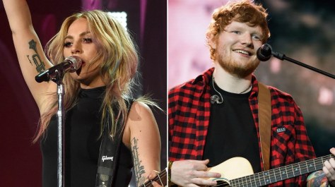 Lady Gaga Ed Sheeran