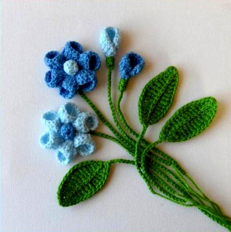 Crochet Beginner Flower Patterns : Crochet Flower Patterns and Designs For Beginners