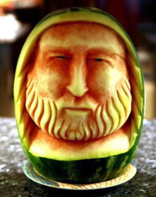 watermelon-carving-face